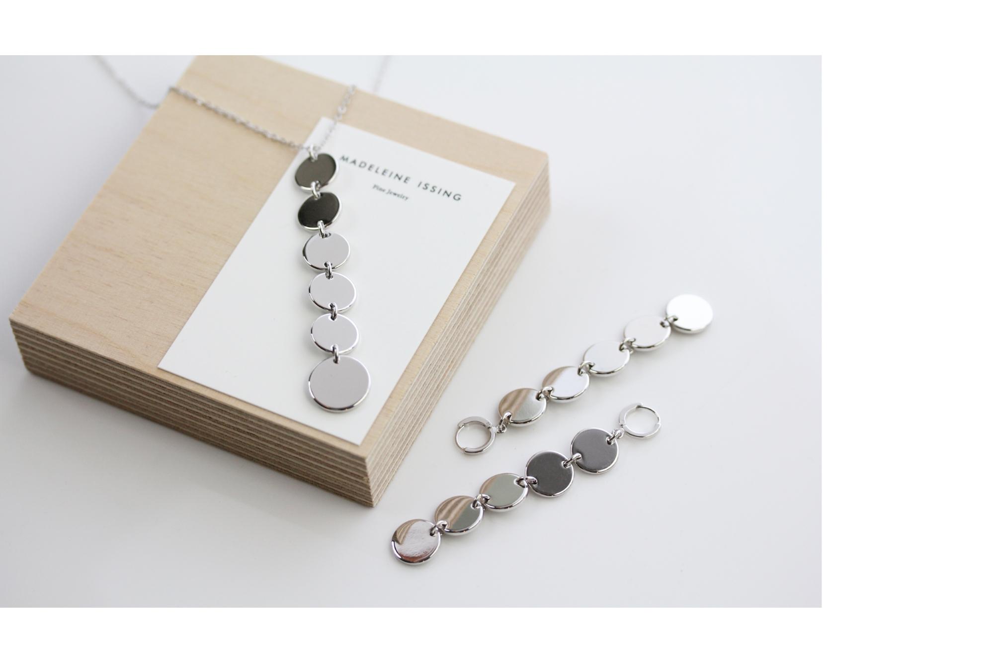 moderne Silber Ohrringe Madeleine Issing