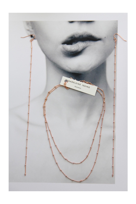einzigartige Halsketten in Rotgold Madeleine Issing