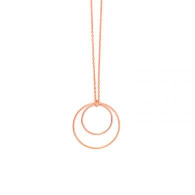 Kette rose vergoldet minimalistisch Madeleine Issing