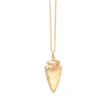 Arrowhead vergoldete Kette mit Pfeilspitze Madeleine Issing
