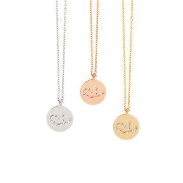 Sternzeichen Kette Jungfrau Gold Silber Rosegold Madeleine Issing 2