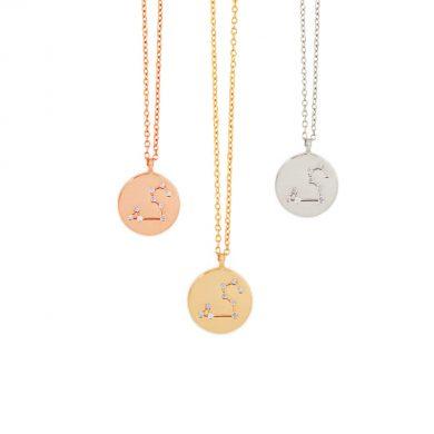 Sternzeichen Kette Löwe Gold Silber Rosegold Madeleine Issing 2