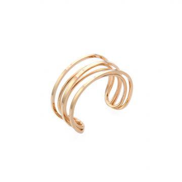 breiter Armreif Gold 585 vergoldet Madeleine Issing
