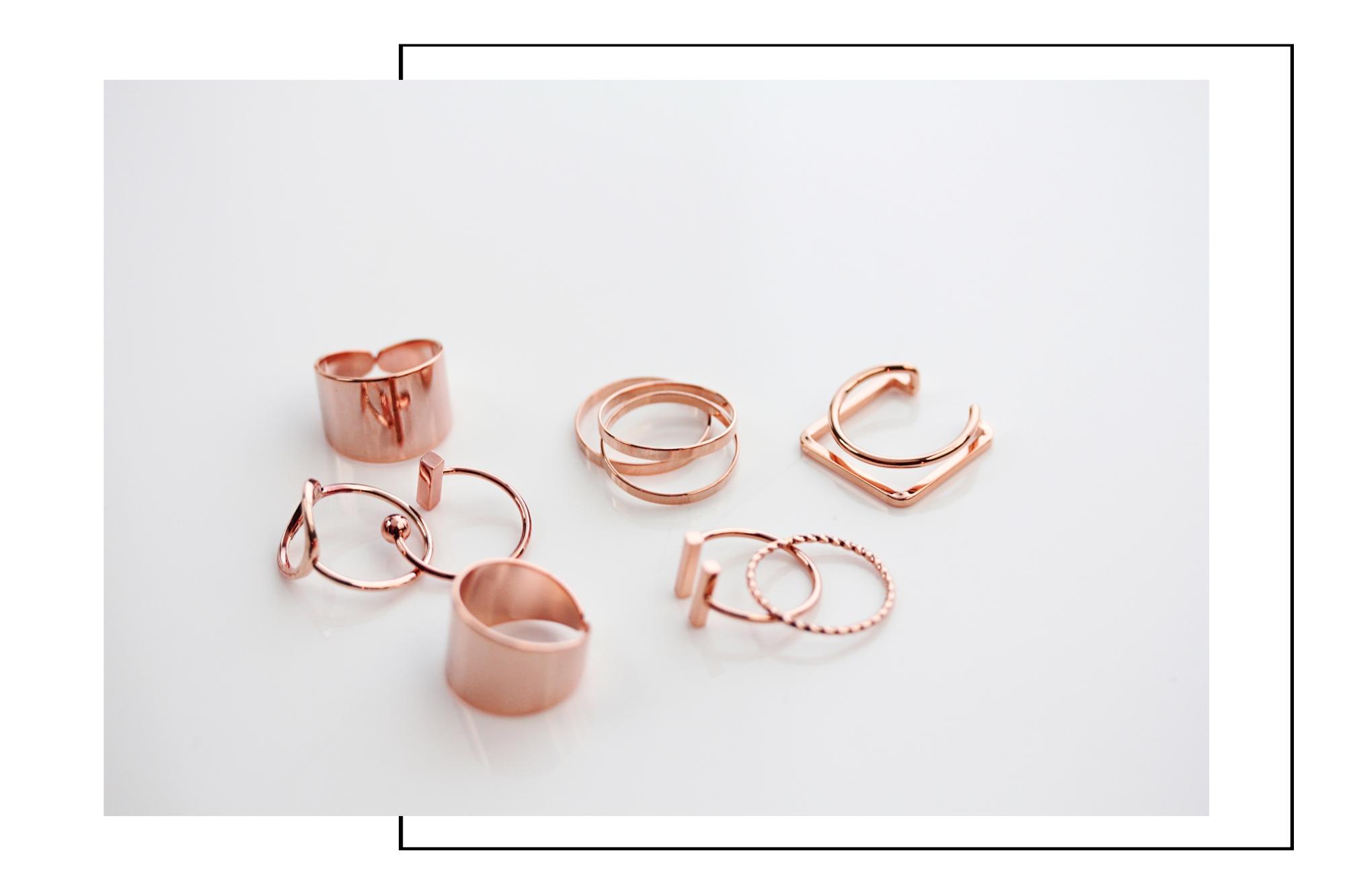 günstige Rotgold Ringe online bestellen Madeleine Issing
