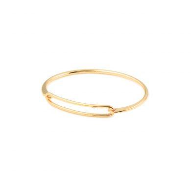 schlichter Armreif Armspange Gold vergoldet Madeleine Issing