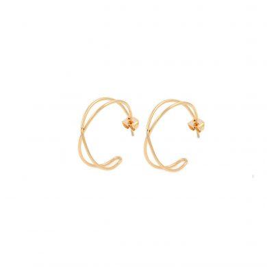 Goldcreolen filigrane Creolen vergoldet Madeleine Issing