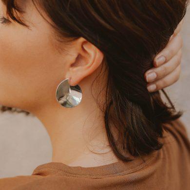 Ohrringe Creolen Silber Designer Ohrringe Madeleine Issing