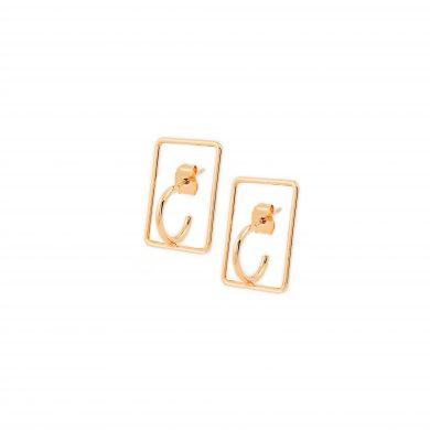 Ohrringe Stecker Gold vergoldet Madeleine Issing