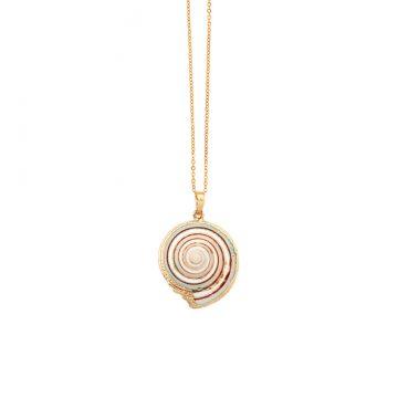 einzigartige Muschel Halskette Gold Madeleine Issing