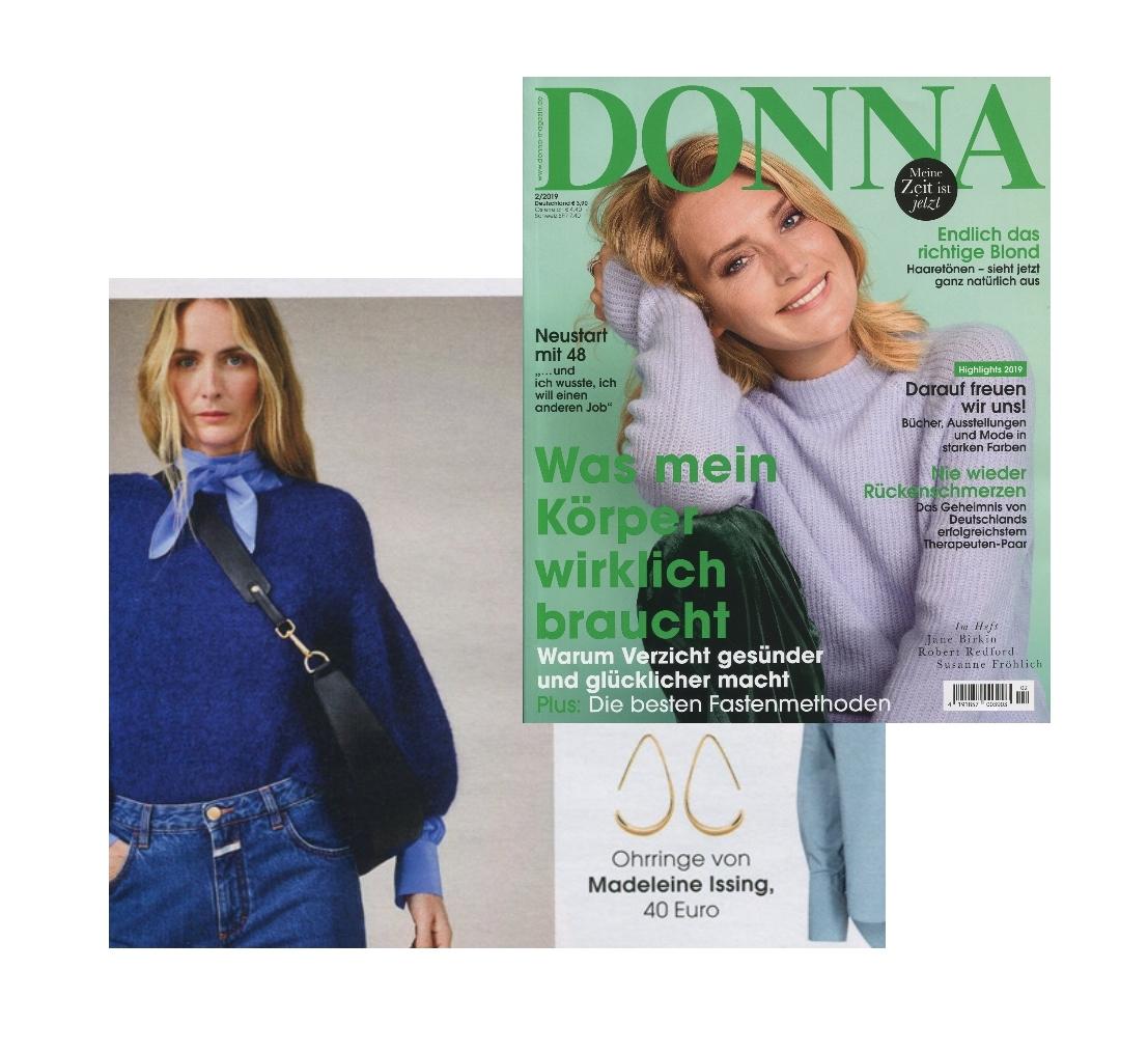 Donna Magazin Januar 2019 Madeleine Issing