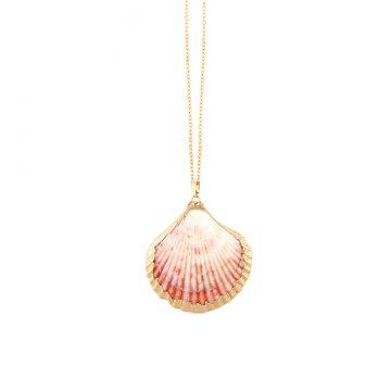 Muschel Choker Halskette Gold vergoldet Madeleine Issing