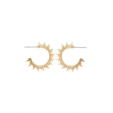 Ohrringe Creolen Gold 925er Silber vergoldet Madeleine Issing