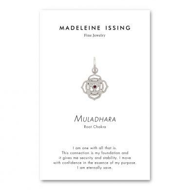 Chakra Anhänger Silber Wurzelchakra Madeleine Issing