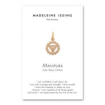 Chakra Anhänger Solarplexuschakra Gold Madeleine Issing