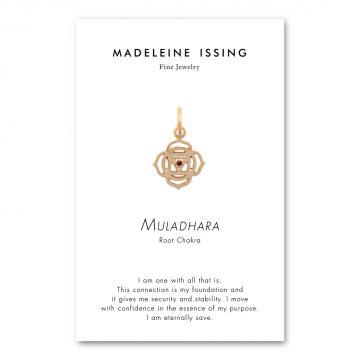 Chakra Anhänger Wurzelchakra Gold Madeleine Issing