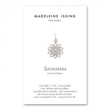 Chakra Symbol Anhänger Kronenchakra Silber Madeleine Issing