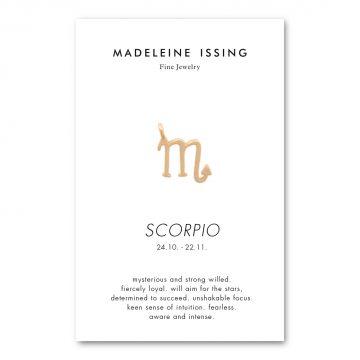 Skorpion Anhänger Gold vergoldet Madeleine Issing