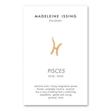 Sternzeichen Anhänger Fisch Gold vergoldet Madeleine Issing