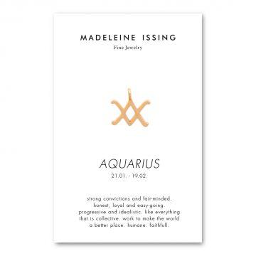 Sternzeichen Anhänger Wassermann Gold Madeleine Issing