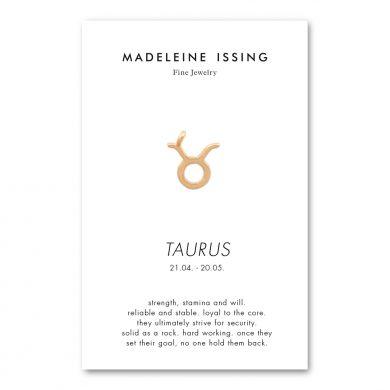 Stier Anhänger Gold Silber oder Rosegold Madeleine Issing