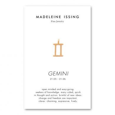 Tierkreiszeichen Zwillinge Anhänger Gold Madeleine Issing