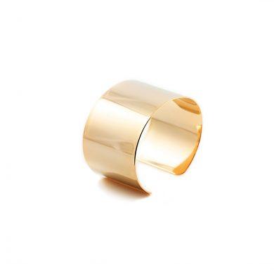 breiter Armreif Gold vergoldet Madeleine Issing