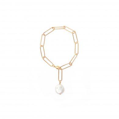 Armband mit Perlen Anhänger Gold Madeleine Issing