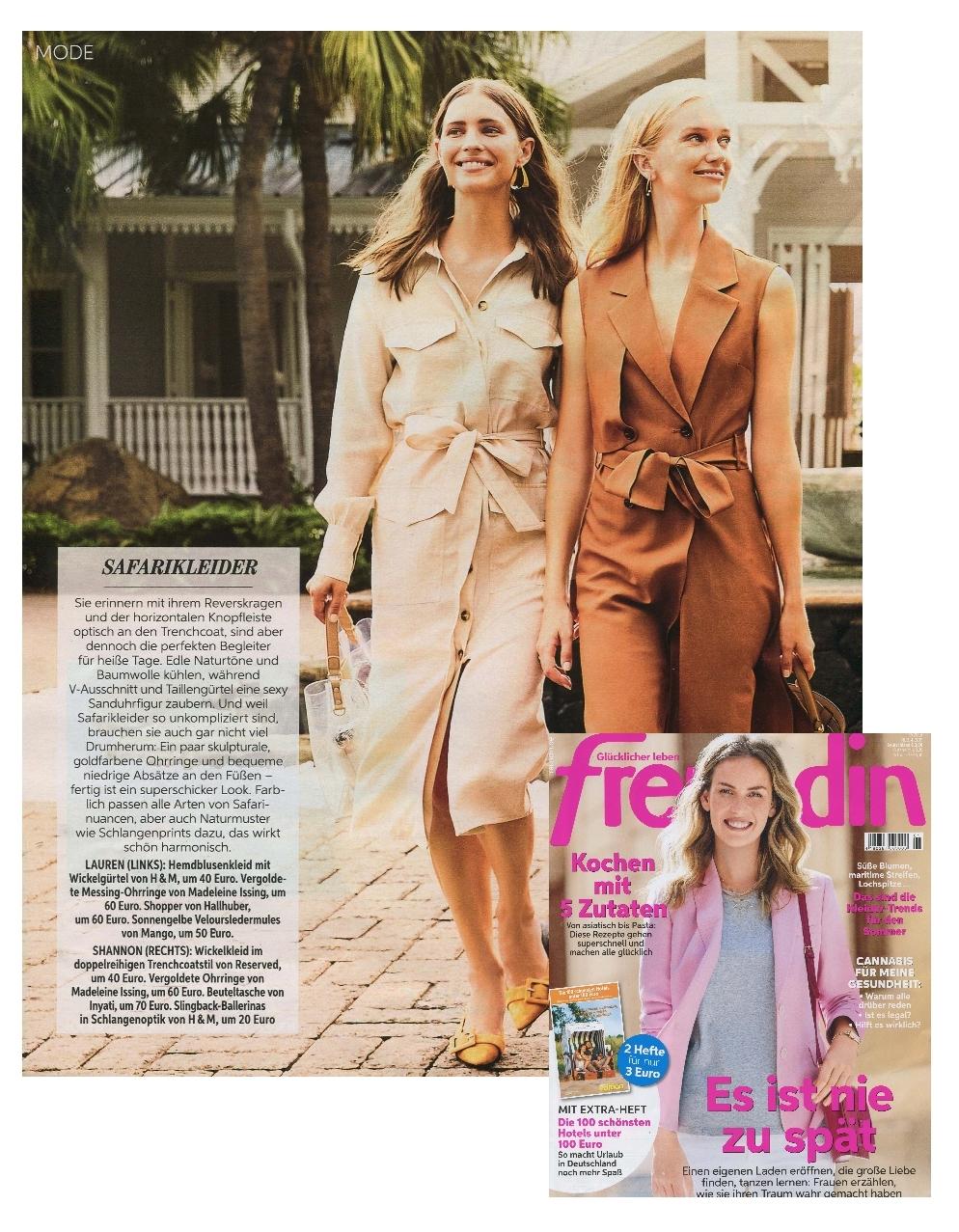 Freundin Magazin April 2019 Madeleine Issing