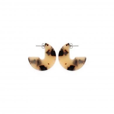 Leoparden Ohrringe aus Acetat Madeleine Issing