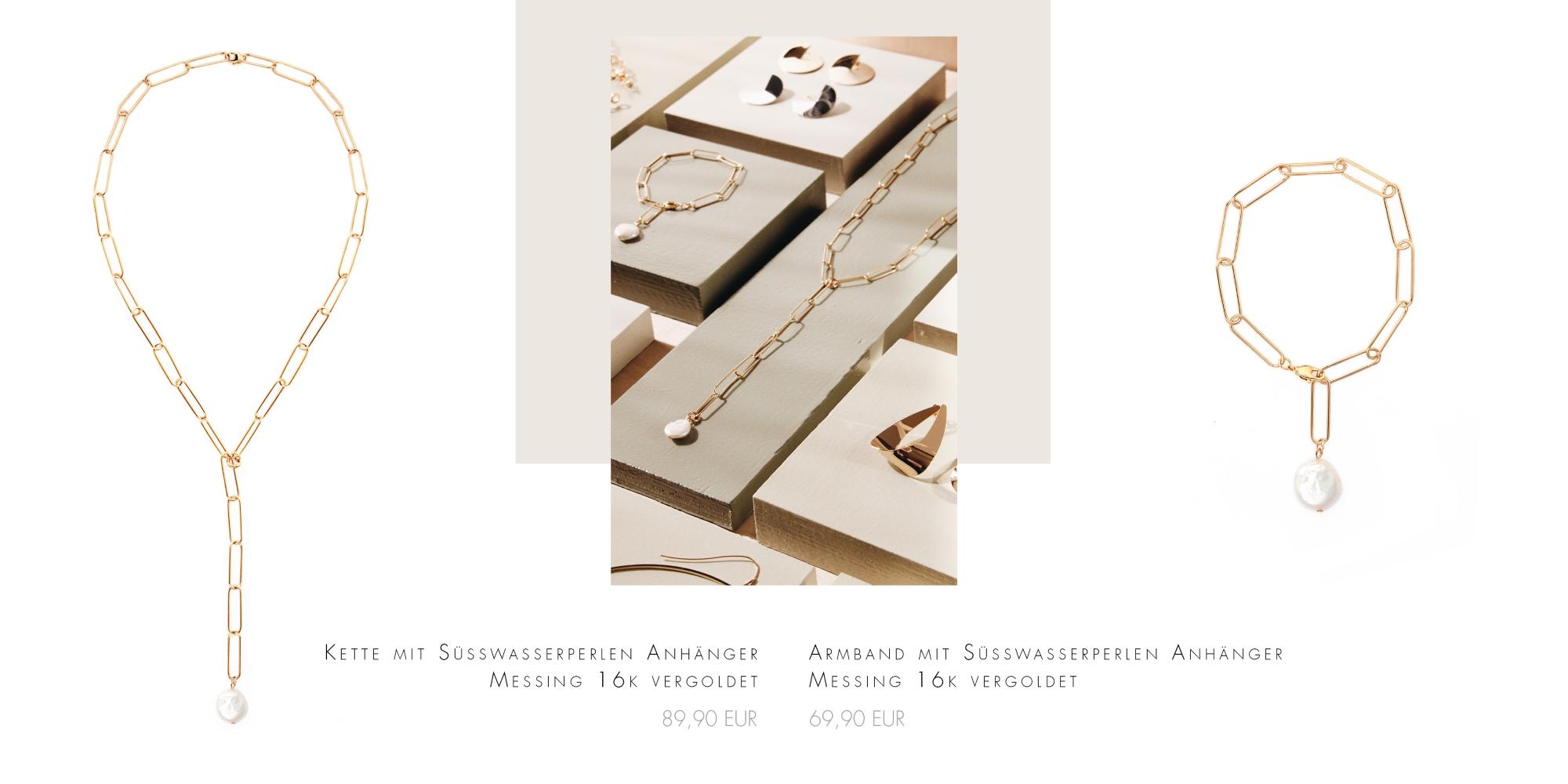 Lange Ketten Gold vergoldet Madeleine Issing