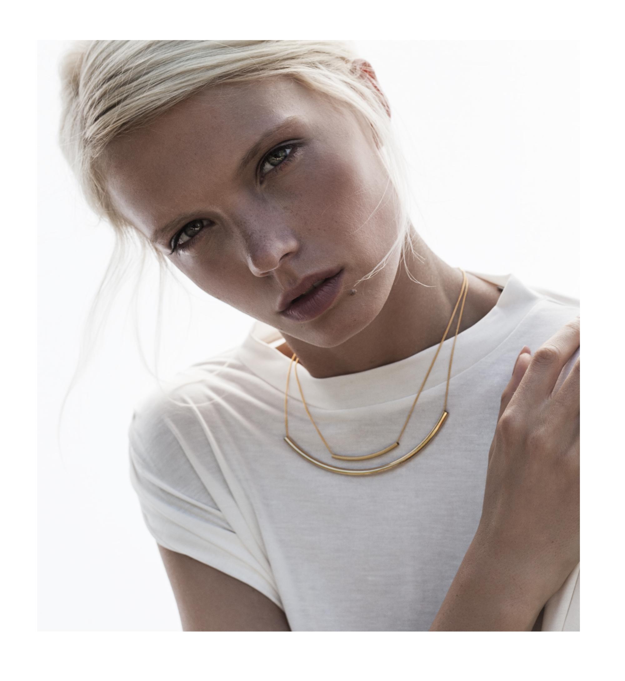 Doppelkette Gold Madeleine Issing