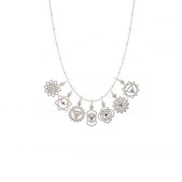 filigrane Chakra Halskette Silber Madeleine Issing
