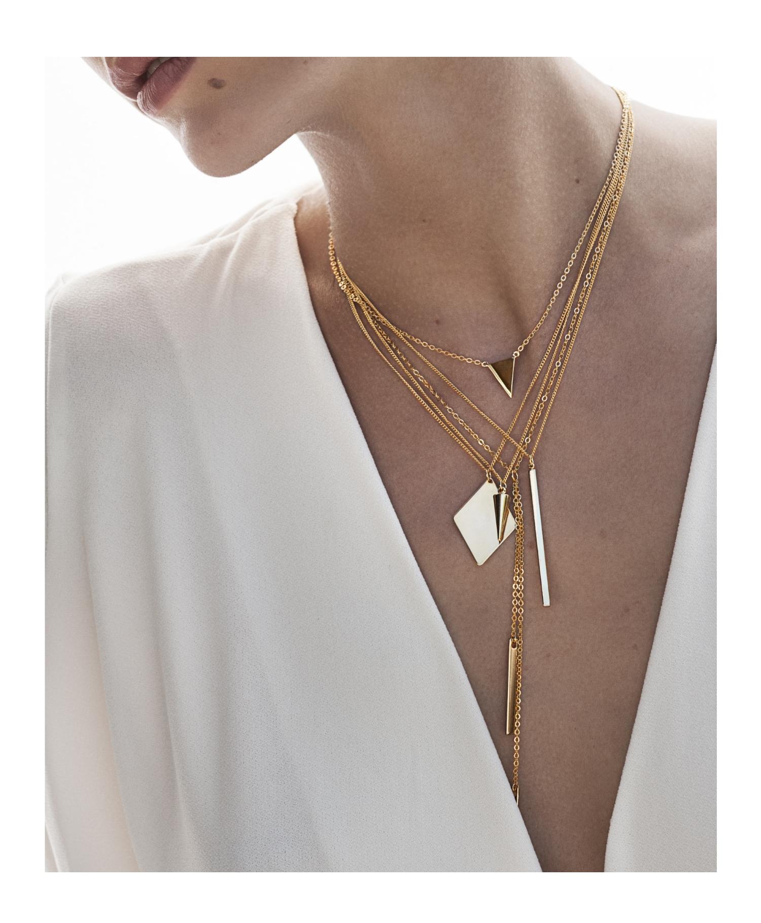 mehrlagige Kette Gold vergoldet Madeleine Issing