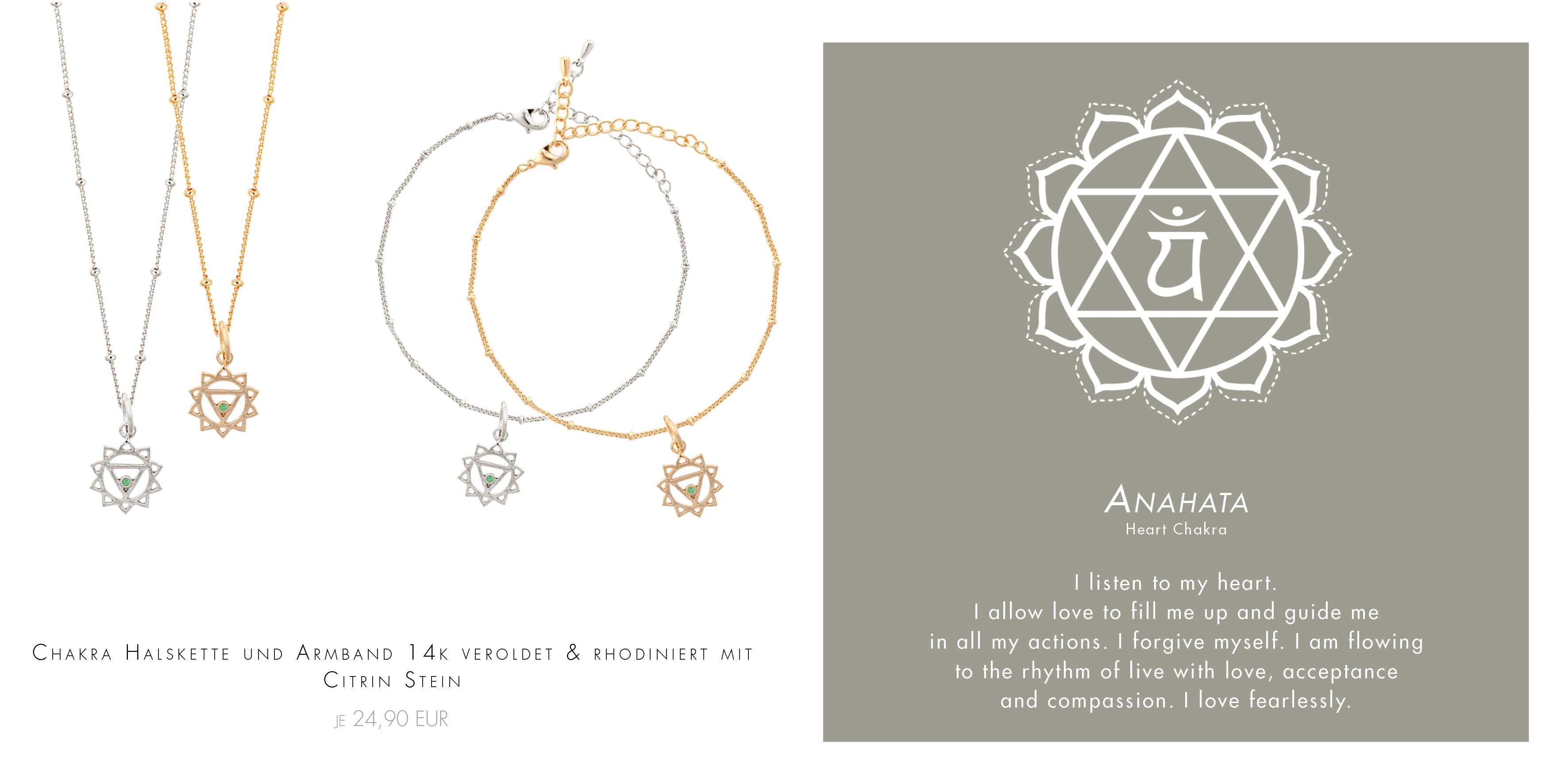 spirituelle Armbänder in Gold und Silber Madeleine Issing