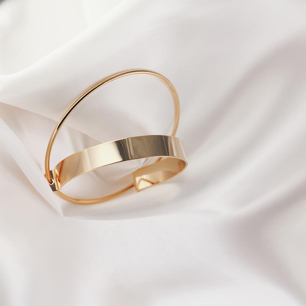 vergoldete Armspangen Modeschmuck Madeleine Issing