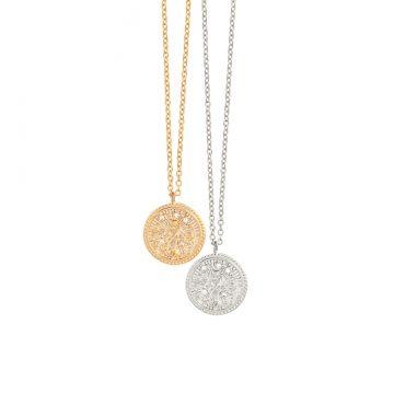 Jungfrau Kette Gold Silber Sternzeichen Kette Madeleine Issing