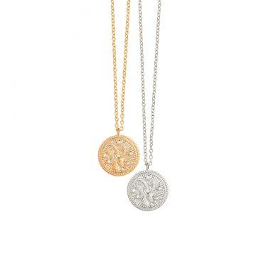 Steinbock Kette Gold Silber Sternzeichenkette Madeleine Issing