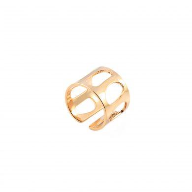 breiter Bandring Gold vergoldet Madeleine Issing
