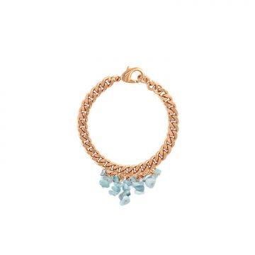 Aquamarin Armband Gold vergoldet Madeleine Issing