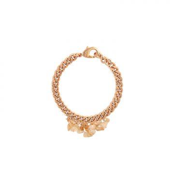 Citrin Edelstein Armband Gold vergoldet Madeleine Issing