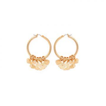 Citrin Ohrringe Gold vergoldet Madeleine Issing
