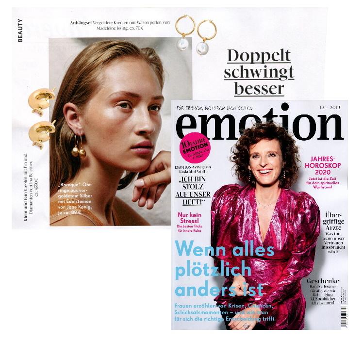 Emotion Magazine Dezember 2020 Madeleine Issing