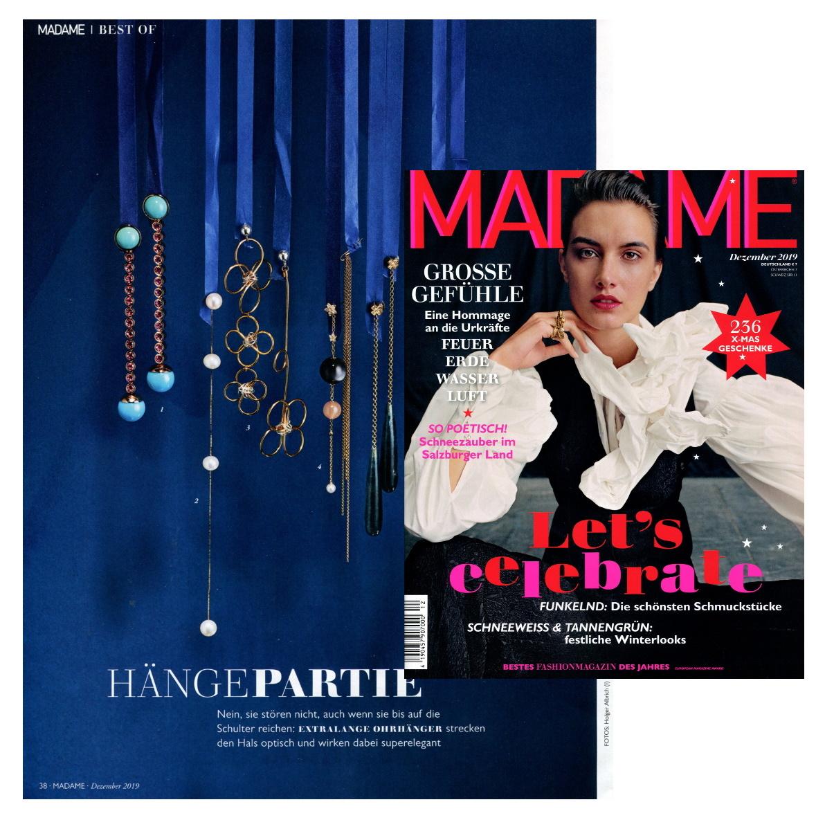 Madame Magazine Dezember 2020 Madeleine Issing