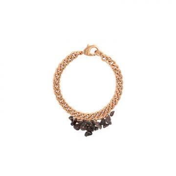 Rauchquarz Armband Gold vergoldet Madeleine Issing