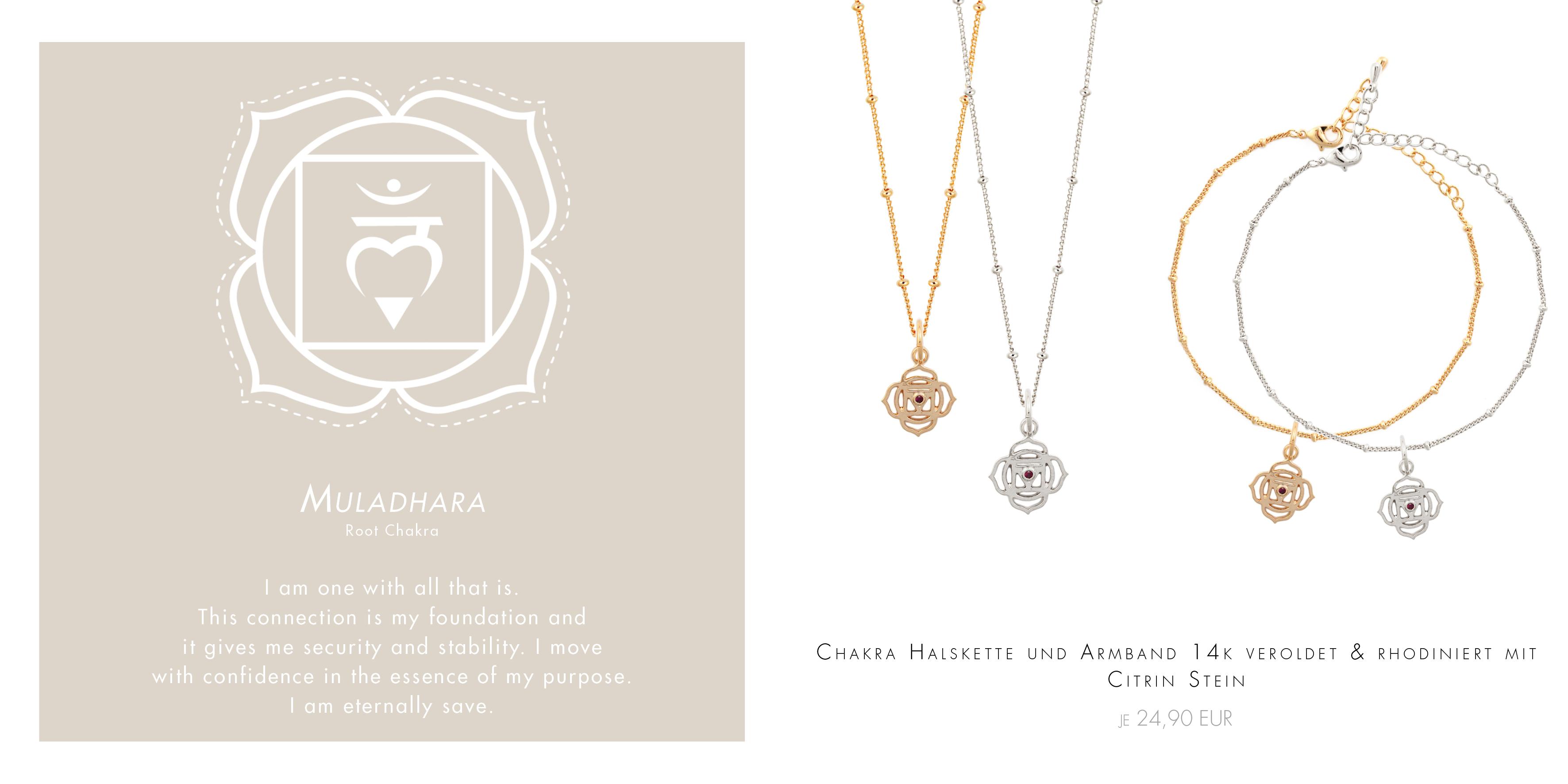 Buddhistische Armbänder mit Chakra-Symbolen Madeleine Issing