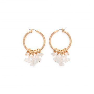 Bergkristall Ohrringe Gold vergoldet Madeleine Issing