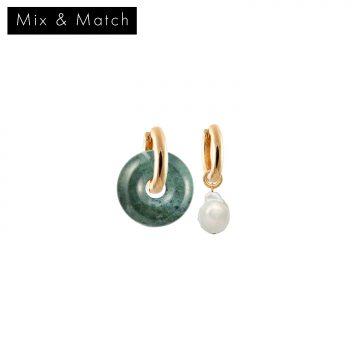 Mix and Match Creolen Gold vergoldet Madeleine Issing