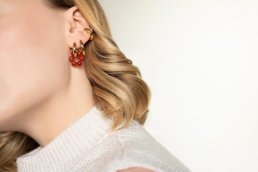 Ohrringe mit bunten Steinen Madeleine Issing_2