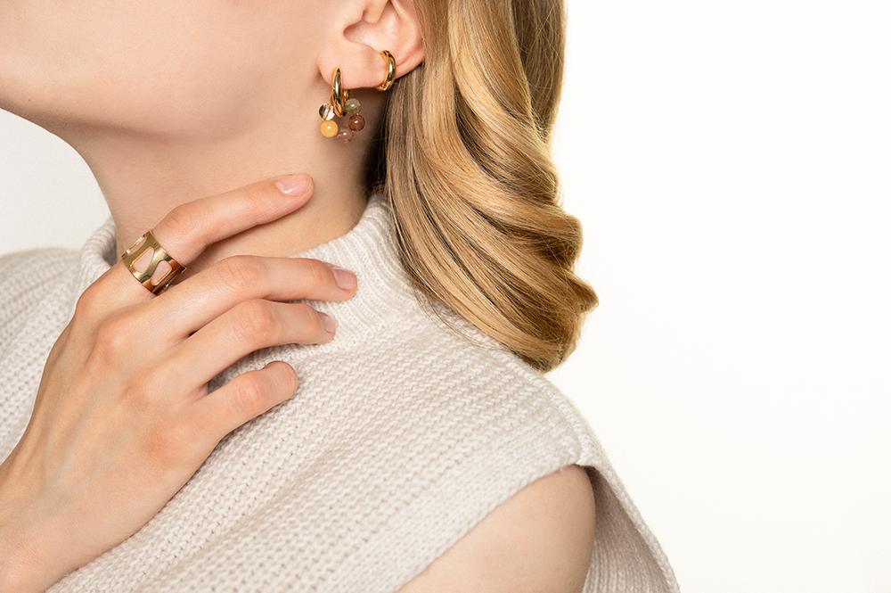 Silber Ohrringe mit Stein Madeleine Issing_2